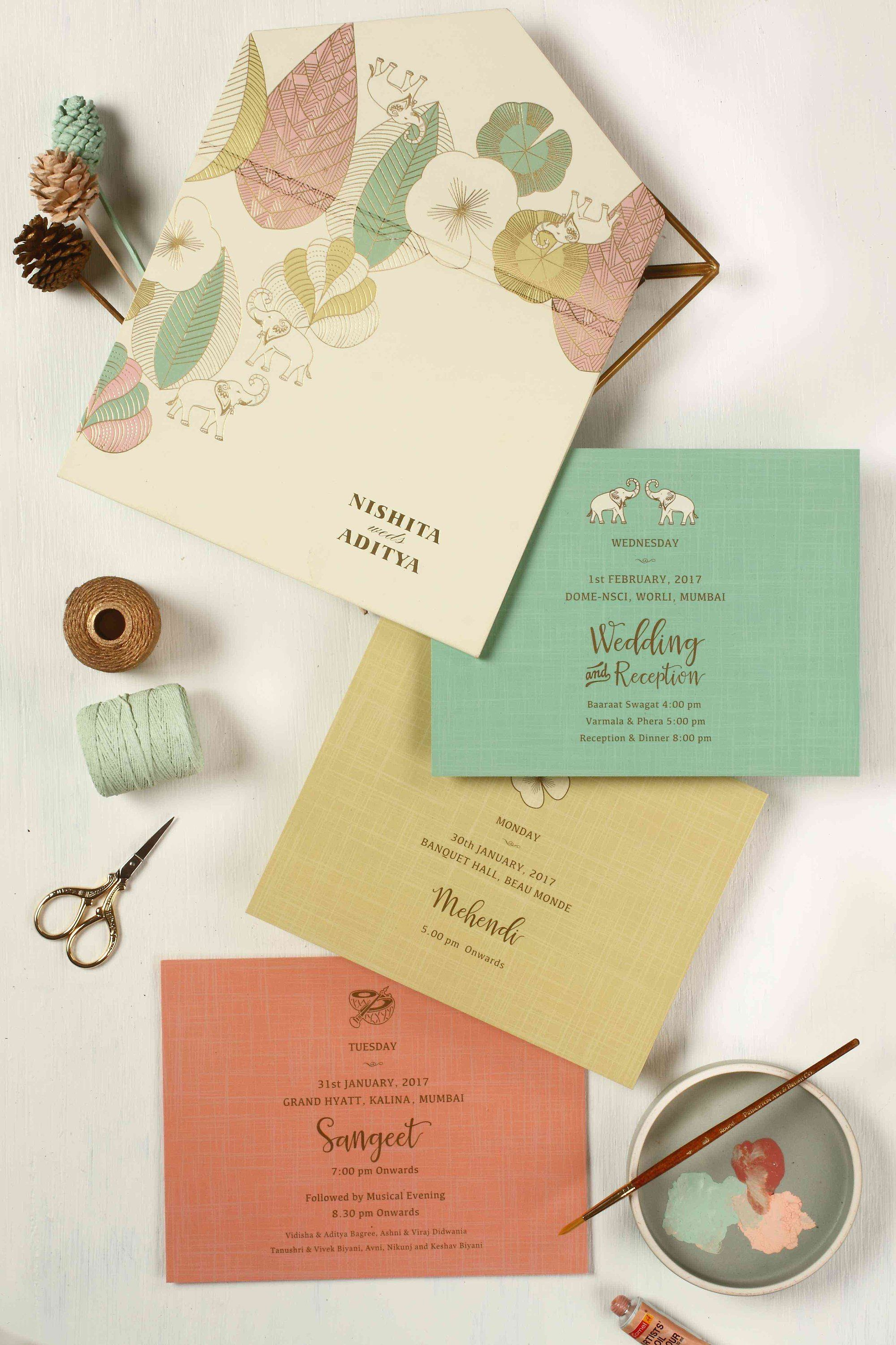 40 Of India S Most Gorgeous Wedding Invites Indian Wedding