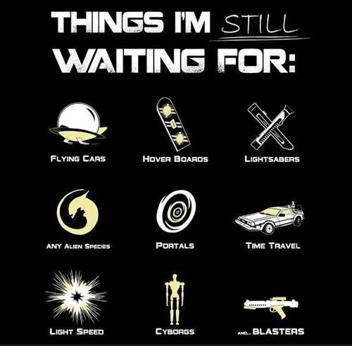 Waiting for some things