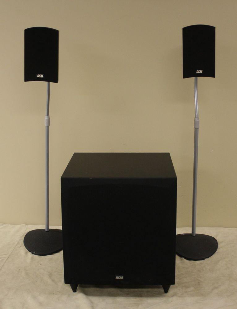 Dcm Cinema2 Home Theater Loudspeaker System 2 1 75w W Cinema2 10 Subwoofer Dcm Wireless Sound System Subwoofer Loudspeaker