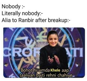 What Did Alia Bhatt Say To Ranbir Kapoor Post Breakup?