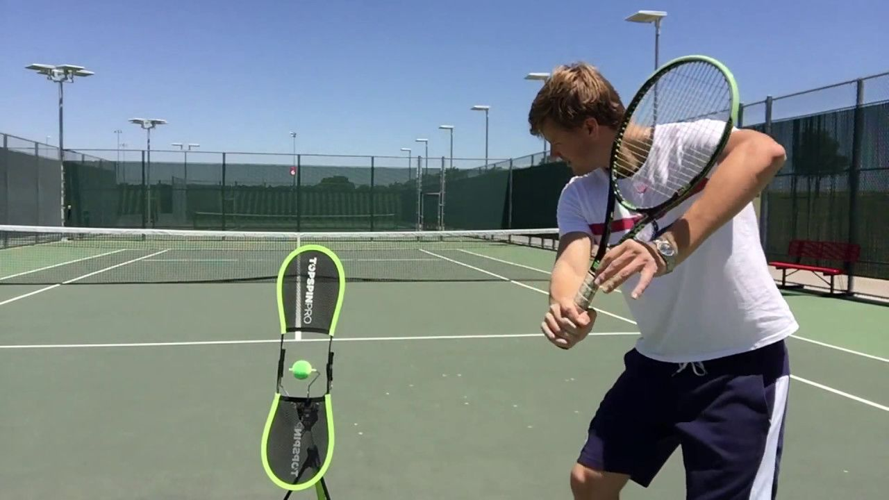 Topspinpro Demo Great Tool For Learning Tennis Top Spin Howtoplaytennis Tennis Tennis Drills Tennis Workout