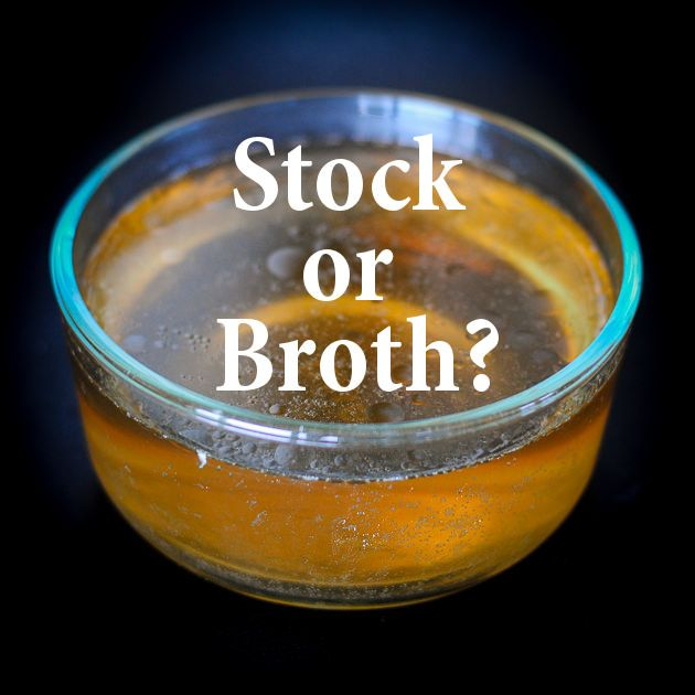 stock or broth from the paleo magazine
