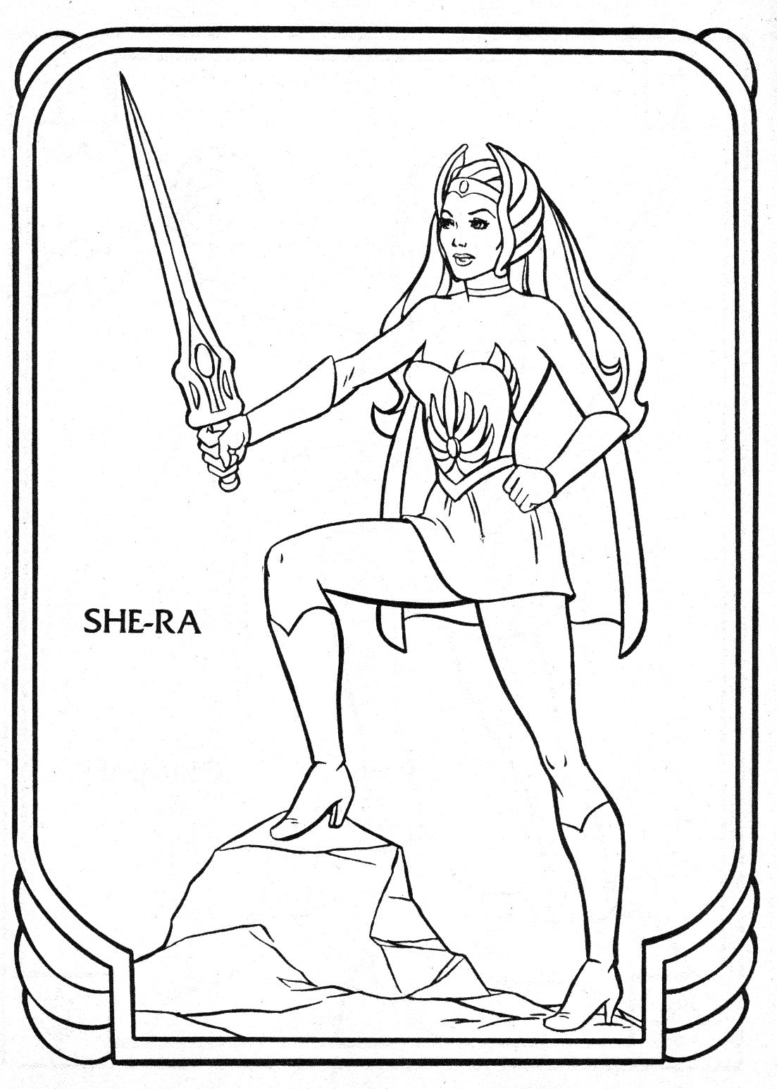 HeMan Coloring Book Pages Coloring book pages