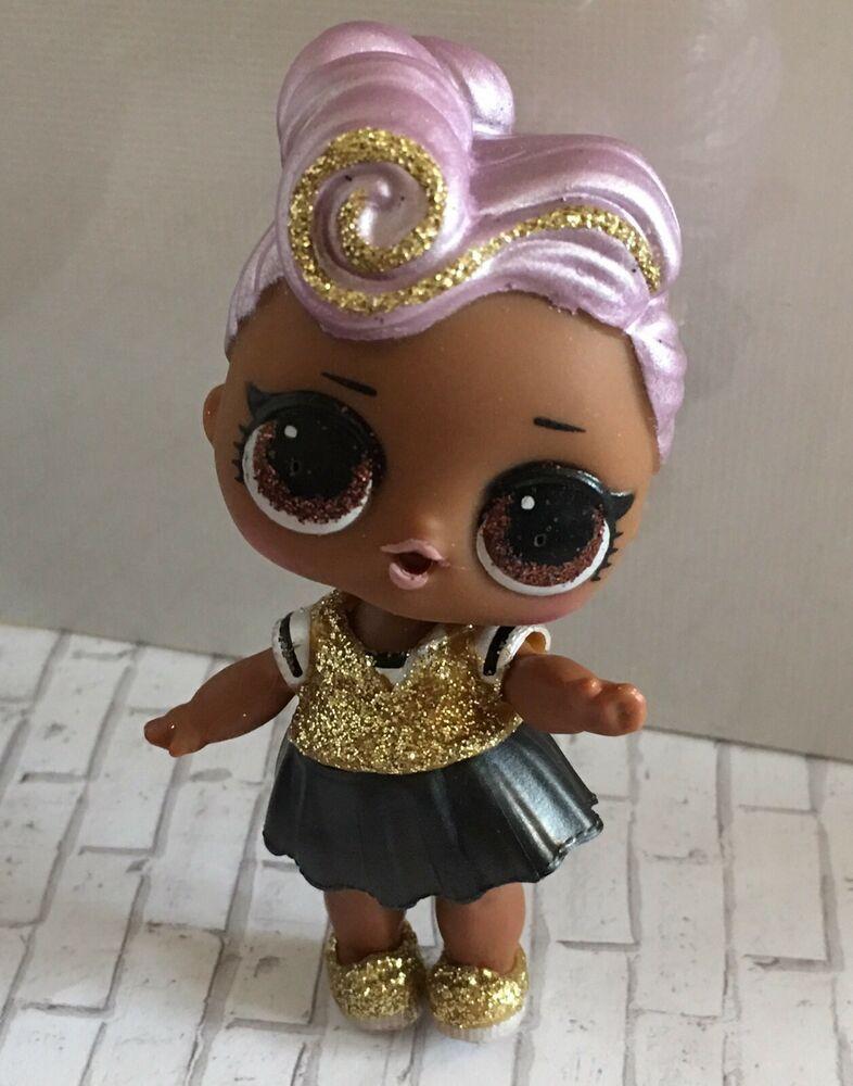 Lol Surprise Doll Glam Glitter Dj Authentic Bling Doll Purple Hair Ebay Lol Dolls Glam And Glitter Dolls