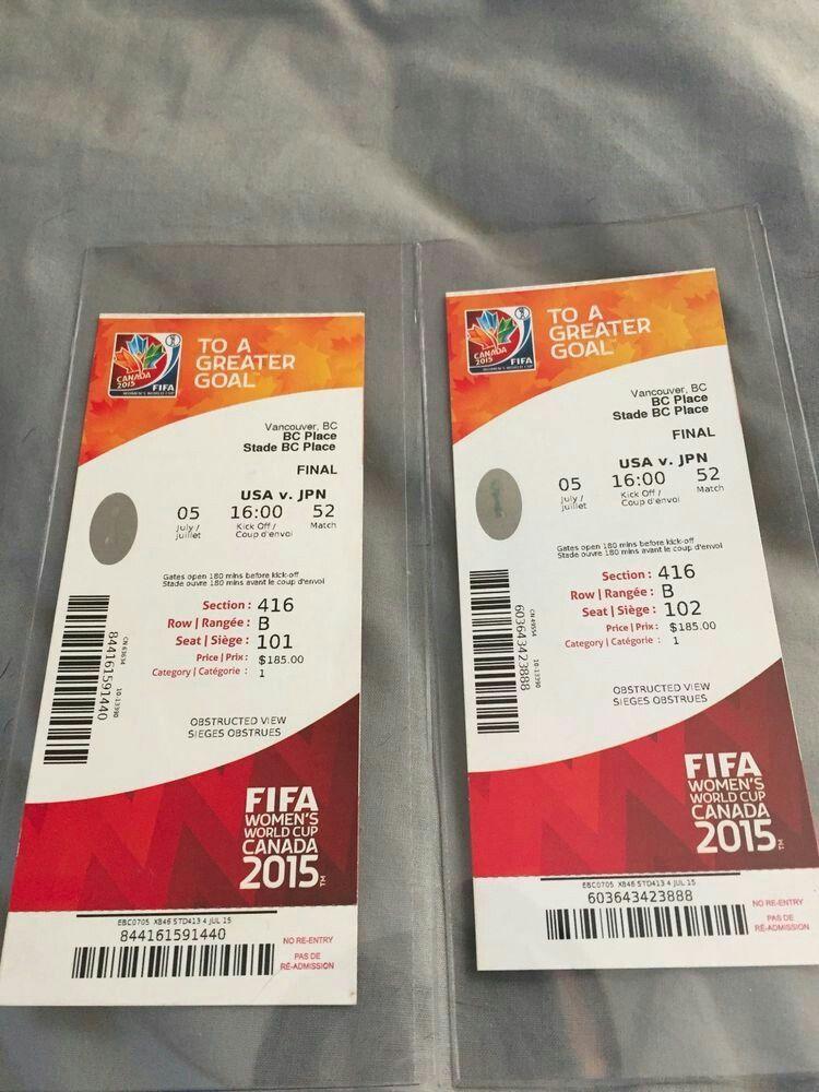 Fifa Women S World Cup 2015 Tickets