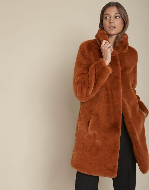 manteau fausse fourrure collection 123