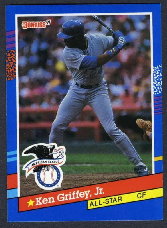 b1966b60c7 Details about 1991 Donruss #49 Ken Griffey Jr. All Star - Seattle ...