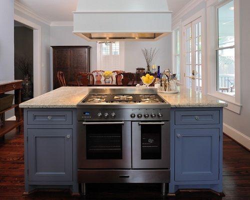 New Kitchen island Stove Oven