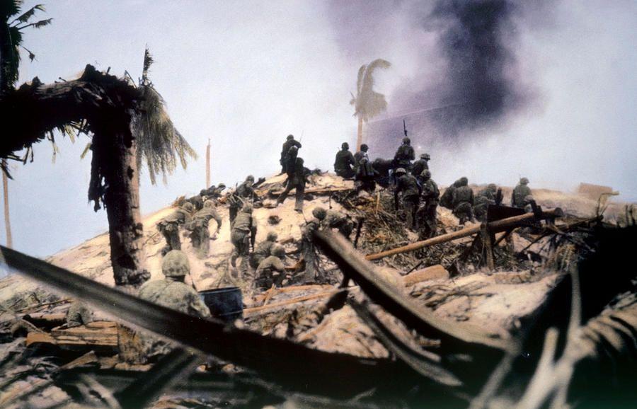 Marines, Tarawa, 1943