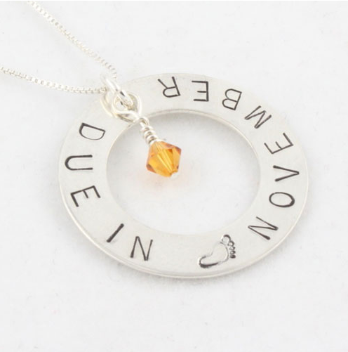 What month is your baby due find the due date mommy necklace find the due date mommy necklace aloadofball Gallery