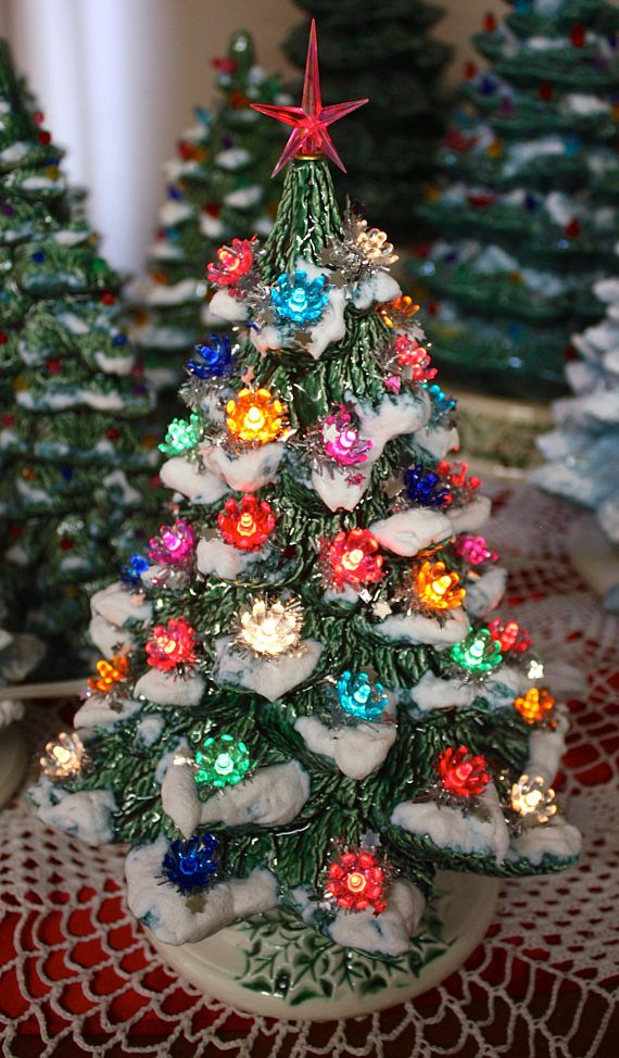 Looking for a ceramic Christmas tree that brings back