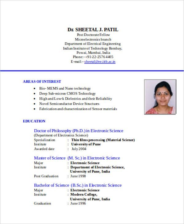Resume Format Download, Resume Format