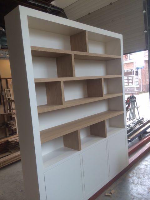 Welp Afbeeldingsresultaat voor boekenkast in nis maken | Home sweet UD-03