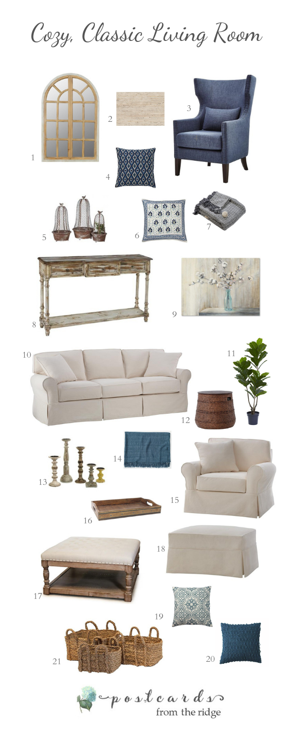 A Classic Cozy Living Room Design From The Home Depot Home Decor Styles Living Room Designs Living Room Decor Cozy
