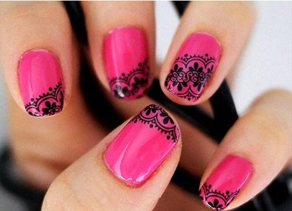 Image from http://www.designsnext.com/wp-content/uploads/2013/11/funky-nail-art-design-with-pink-nail-polish.jpg.