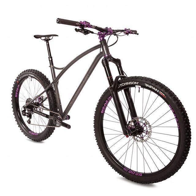 SimpleTrack 29?? front / 275?? rear #caminadebikes #steelbike ...