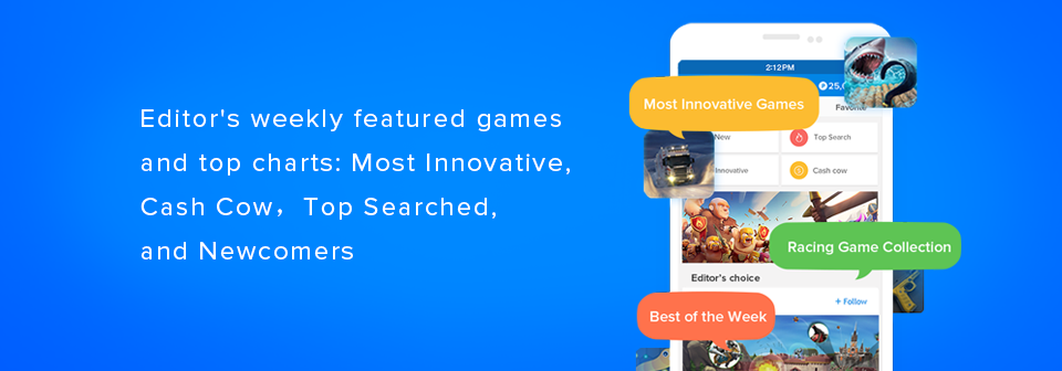 Download hot Android games same as Google Play store for