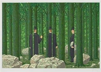 Les Enfants Trouvés de Magritte By René Magritte ,1968