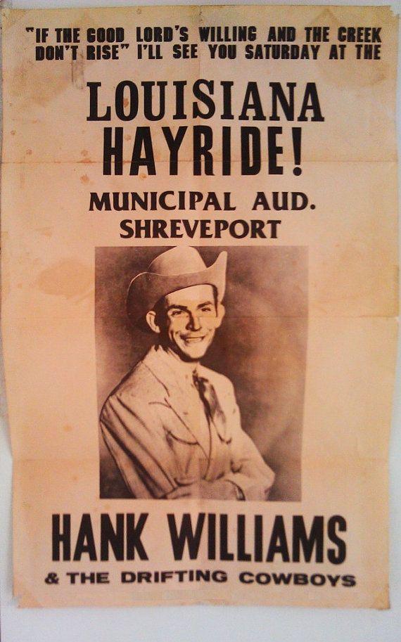 Lyric louisiana rain lyrics : 1949: Hank Williams makes his last appearance on