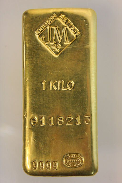 1 Kilo Gold Bar Johnson Matthey Oct 22 2015 Kenneth Hutter Auctions In Ny In 2020 Gold Money Gold Coins Gold Bar
