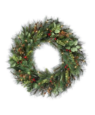 Look at this #zulilyfind! Fir & Eucalyptus Wreath by Regency International #zulilyfinds