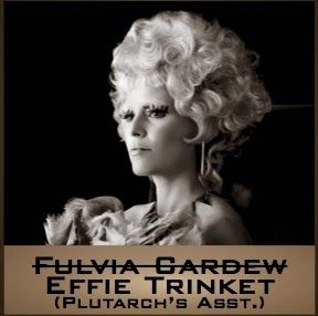 Mockingjay News: Effie Trinket will take Fulvia Cardew's place. I don't normally approve of major alterations from the book, but I approve of this 100%! I love Effie and am so happy that she's not just going to disappear for the majority of the next two movies!! :)