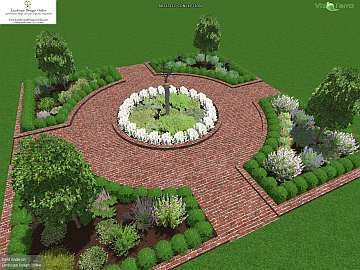 herb garden plan - Garden Design Layout