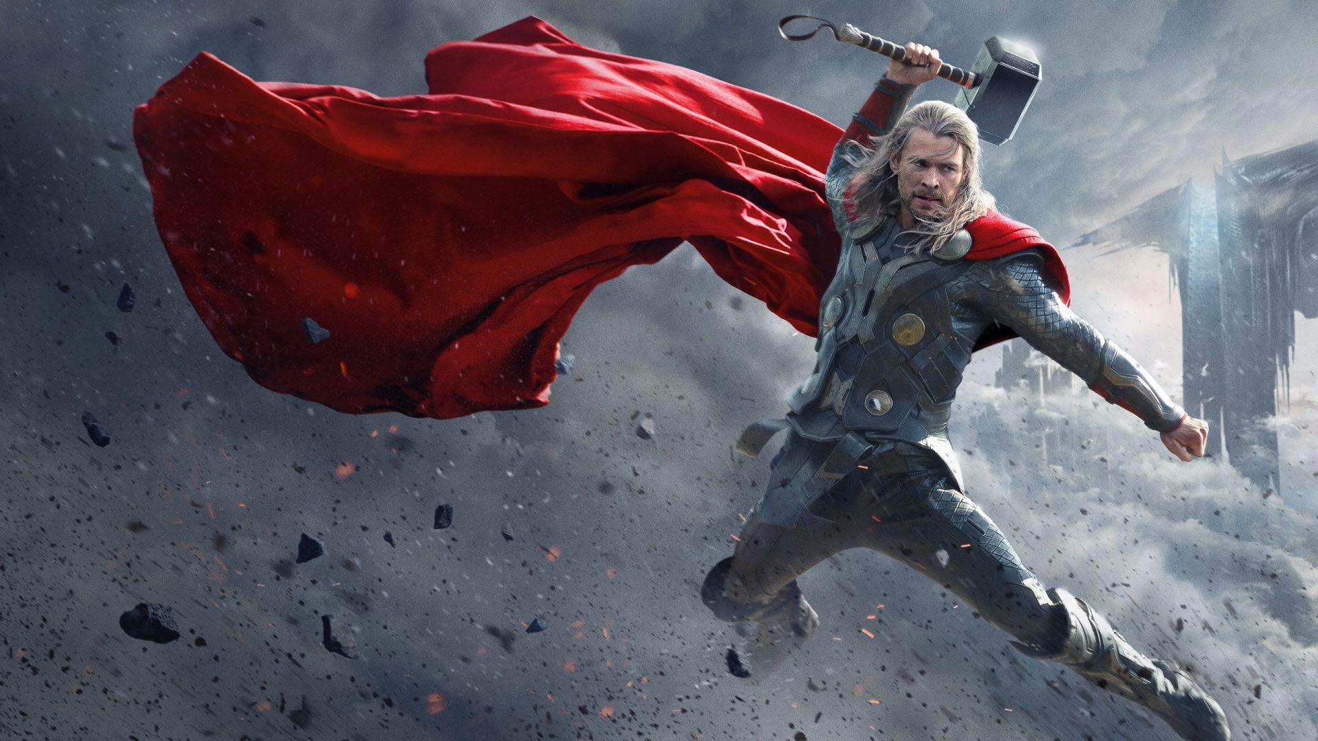 40 Free Thor Wallpaper Hd For Desktop The Dark World Thor