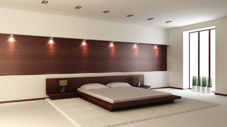 Rustic Bedroom Designs Dark Brown Solid Wood Oak Bed Design Basic