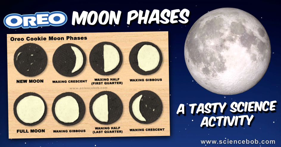 Weltraum Kindergarten Essen In 2020 Oreo Moon Phases Moon Phases Moon Activities
