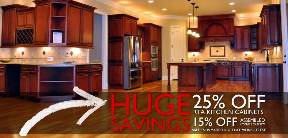 Discount Kitchen Cabinets | Online kitchen cabinets, Rta ...
