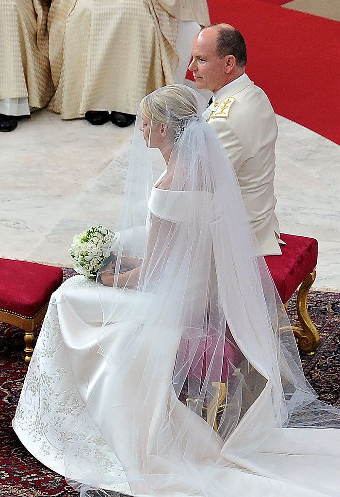 The Princess of Monaco Gets Gorgeous in Armani to Marry Prince ...