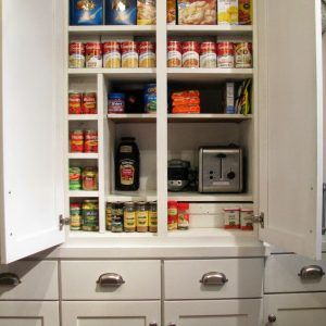 Shallow Depth Kitchen Pantry