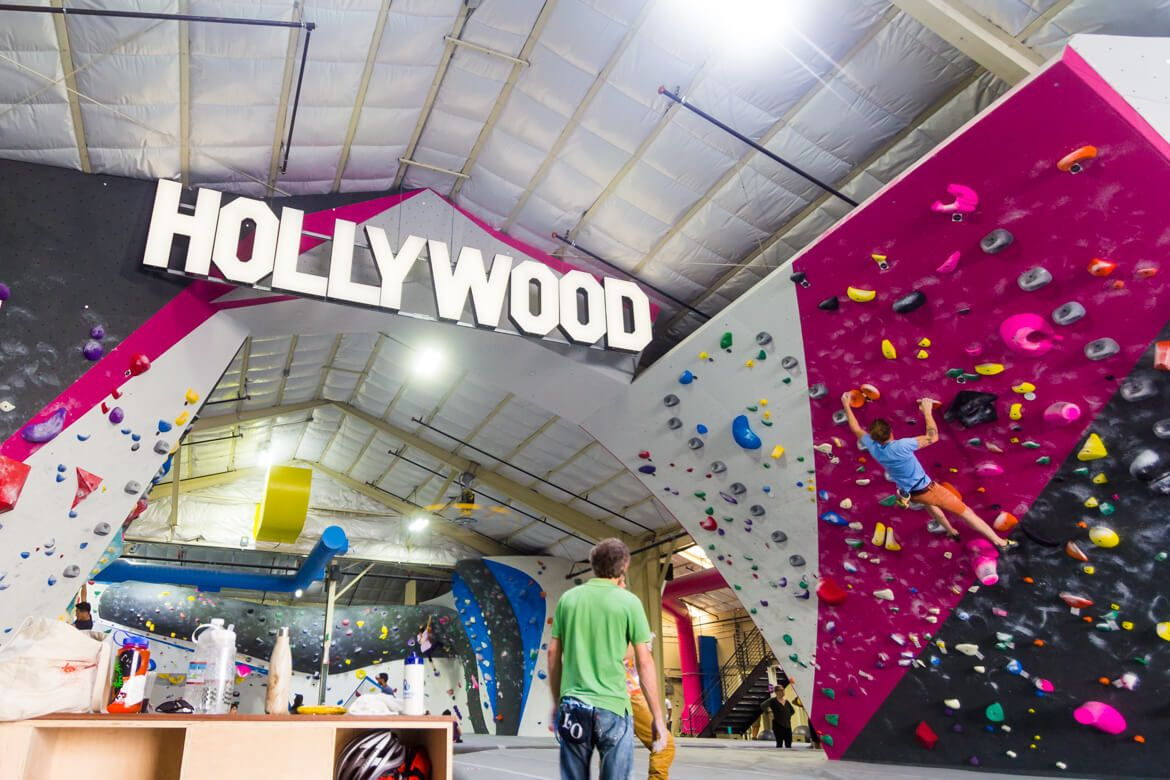 Hollywood Boulders A Touchstone Bouldering Gym In Los Angeles Southern California Beta Together Bouldering Gym Rock Climbing Gym Bouldering