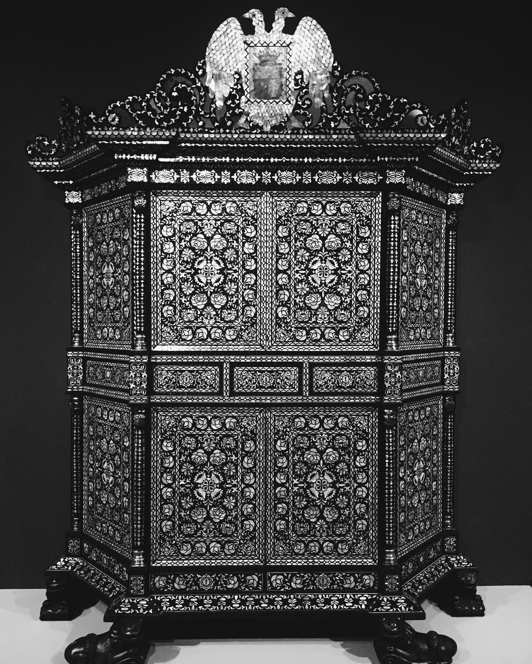 Seriously considered my first museum heist when I saw this wardrobe. Especially if it leads to Narnia.