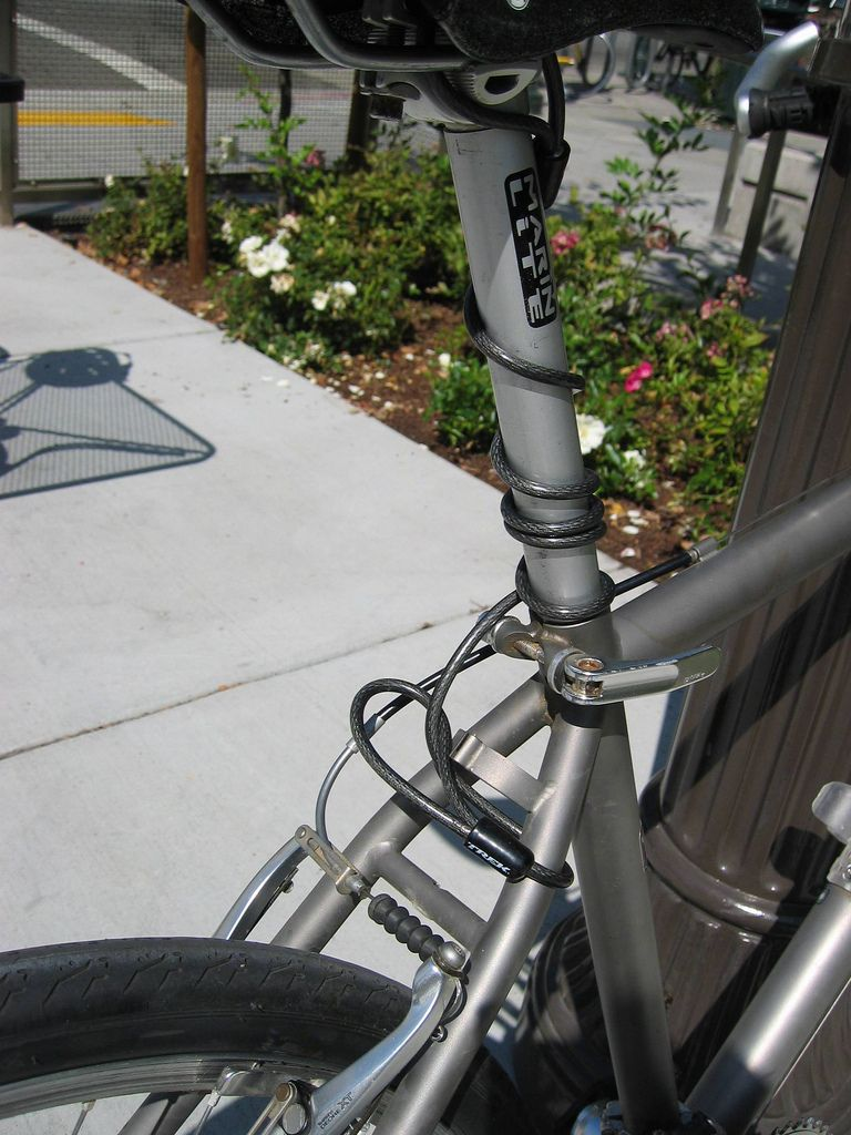 How To Install A Seat Leash To Prevent Theft Of Saddle Seat Post