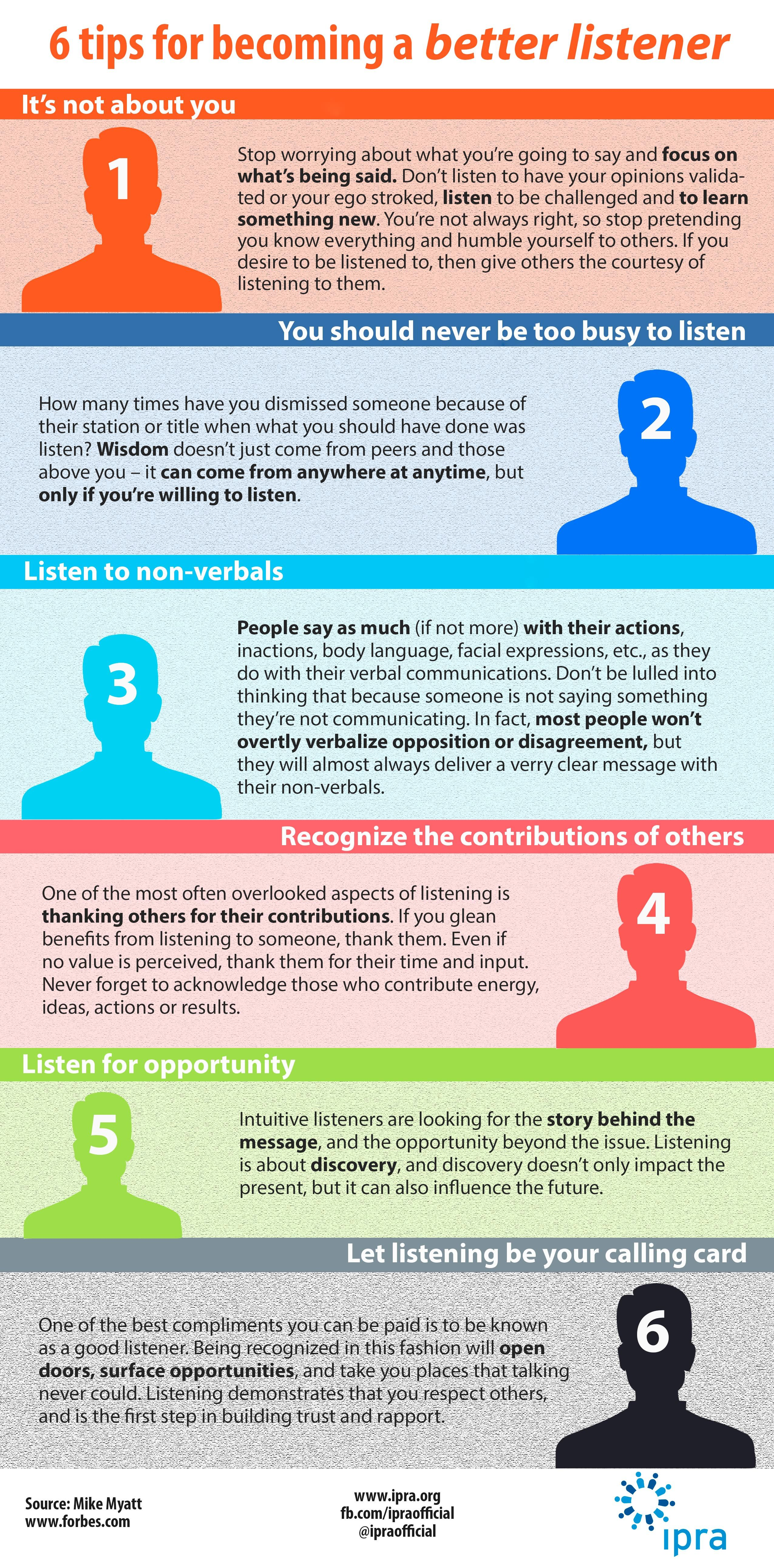 6 Tips for Better Communication images
