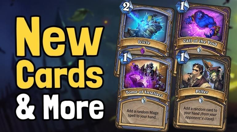 Hearthstone new cards rastakhans rumble expansion trick