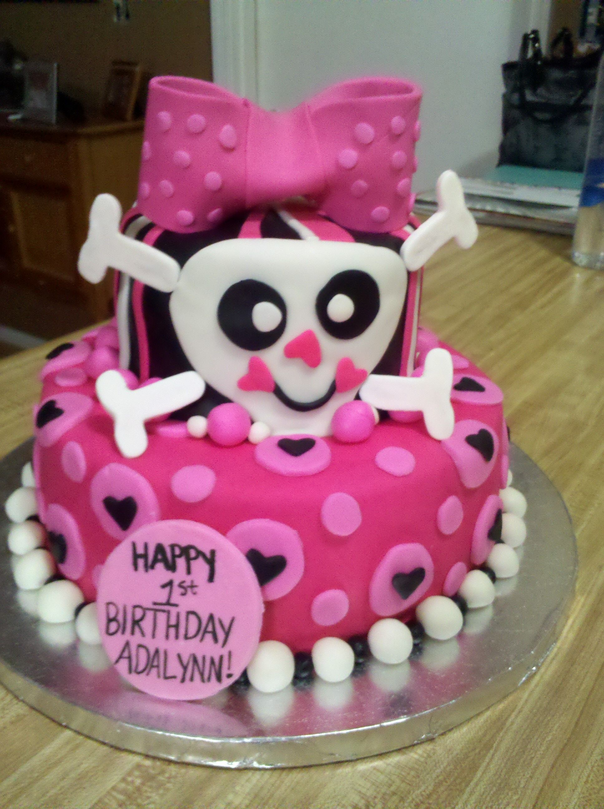 Cake one of my best friends made for my little girls 1st birthday