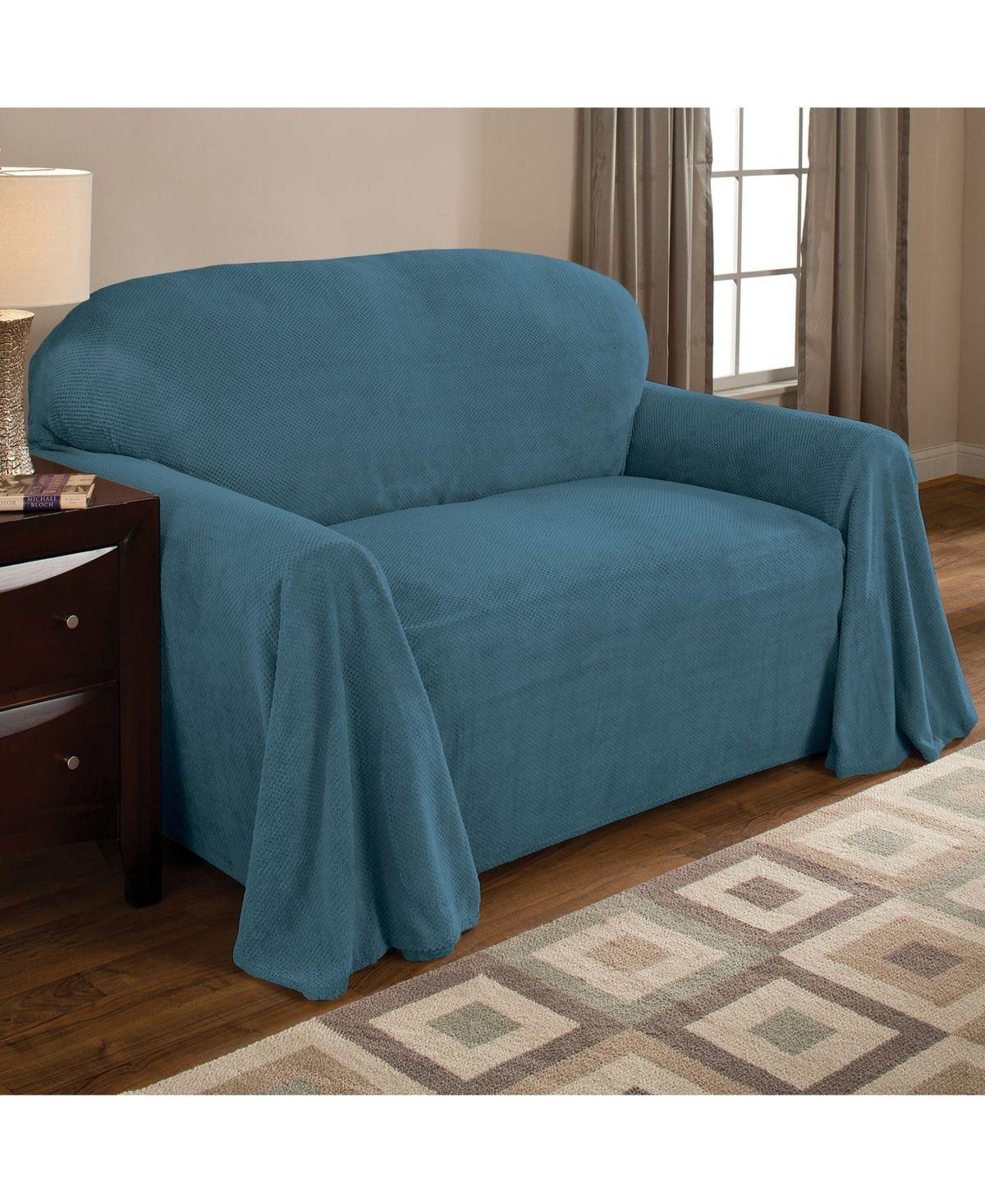 C Fleece Throw Sofa Slipcover