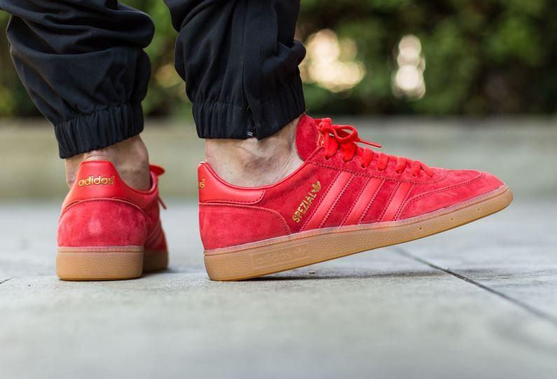 repentinamente Escarpa presentar  adidas Originals Spezial: Red/Gum | Schuhe turnschuhe, Adidas ...