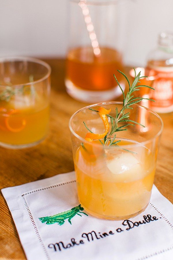 The Perfect Winter Cocktail: Spiced Orange and Rosemary Bourbon