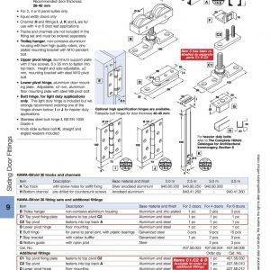 Hafele Sliding Folding Door Hardware | http://pecospackers.com ...