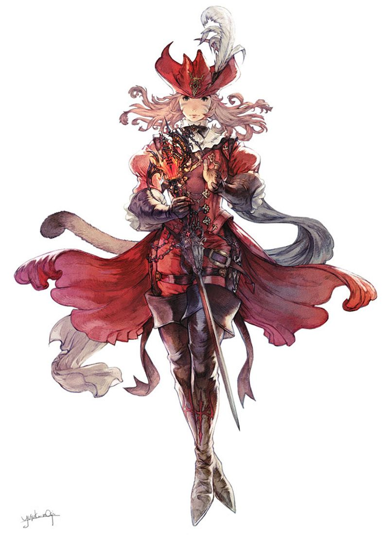 Red Mage From Final Fantasy Xiv Stormblood Final Fantasy Art Final Fantasy Xiv Final Fantasy