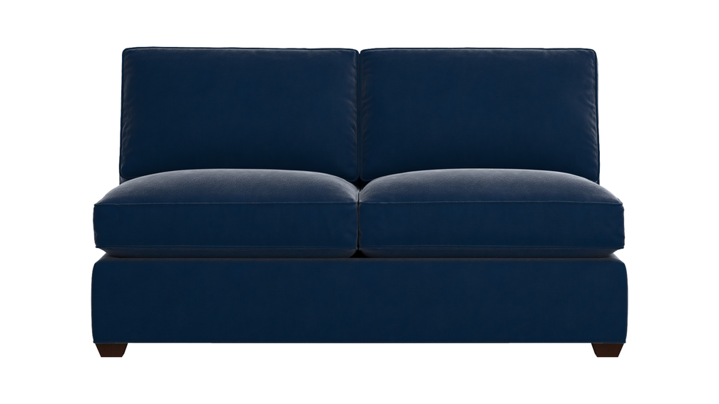 Davis Armless Full Sleeper Sofa with Air Mattress 64