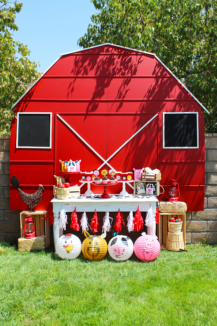 farm 1st birthday party