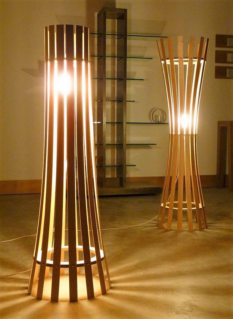 Bamboo Floor Lamp Wooden Lamps Design Wooden Floor Lamps Diy