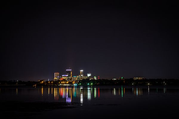 Pin By James Allan Photo On Minneapolis Night Photography Wall