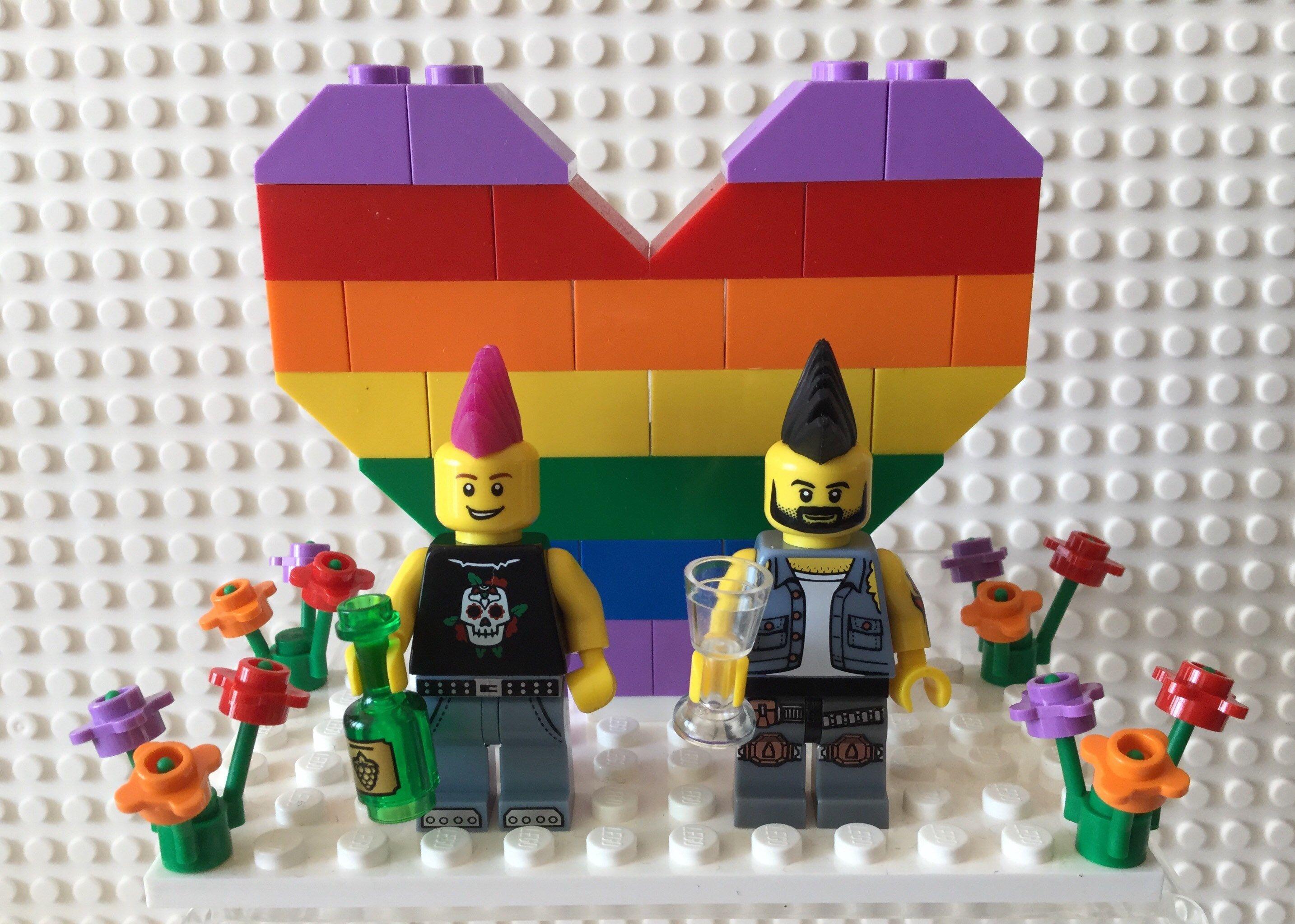 Zestawy LEGO LEGO Pageboy Page Boy Black Suit Wedding Minifig Minifigure Cake Topper Bride Zabawki konstrukcyjne