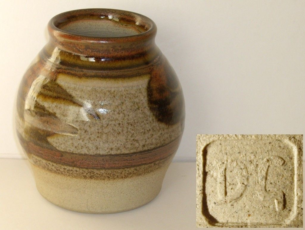 Donald glanville studio pottery small vase dg mark pottery donald glanville studio pottery small vase dg mark reviewsmspy